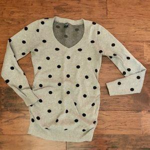 Old Navy Maternity polka dot sweater